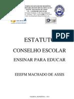 Estatuto do Conselho Escolar - Emachassis 2012