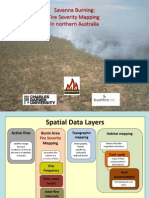 201215 Edwards, Andrew the Integration of a Spatially Explicit Satellite Derived Fire Severity Variable Into Models for Greenhouse Gas Emissions Calculations on Indigenous Land in Northern Australia