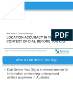 201238 Holly, Nick the Importance of Spatial Data Accuracy in the Context of Dial Before You Dig Today and Into the Future
