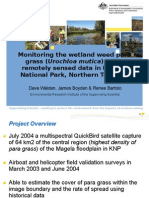 201239 Walden, Dave Monitoring Wetland Weeds Using Remotely Sensed Data in Kakadu National Park, Northern Territory, Australia
