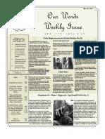 Newsletter Volume 4 Issue 13