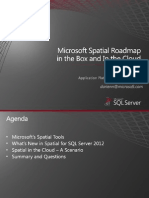 201248 Nagle, Darien Microsoft Spatial Roadmap in the Box and in the Cloud