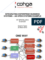 201251 Taylor, Graeme Integrating Enterprise Business Systems - An Open Systems Example