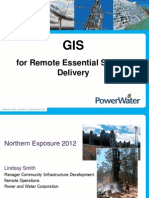 201253 Smith, Lindsay GIS for Remote Essential Service Delivery