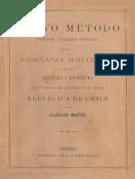 Nuevo método (fonético, analítico-sintetico) para la enseñanza simultánea de la lectura i escritura............... (¿1884)