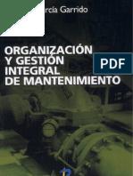 Organizacion y Gestion Integral de Mantenimiento