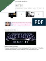 Imprimir - Detonado Metroid Other M_Detonados Gamer