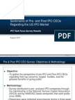 IPO Task Force CEO Survey 2011