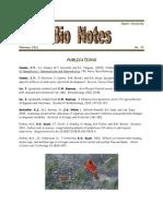 February 2011 Bio Notes