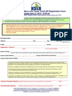 KSLB DMWTTO Volunteer Registration Form 2012