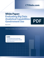 Big Data Analytical Tools
