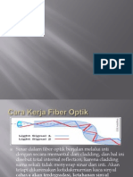 Aplikasi Dan Cara Kerja Fiber Optic