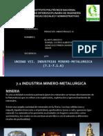 INDUSTRIA MINERO-METALURGICA