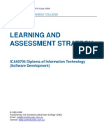 training and assessment strategy-sample