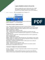 Comandos Utiles Para Windows Atraves de Ms