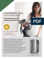 WD_My Book Thunderbolt Duo_Factsheet