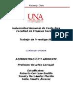 Investigación de Administración y Ambiente