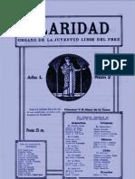 El deber de la mujer peruana actual por María J. Alvarado Rivera