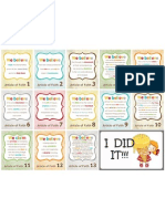 AOF Sticker Chart