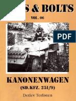Nuts & Bolts 06 Kanonenwagen SdKfz251-9