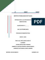 Introduccion a Los Procesos de Manofactura
