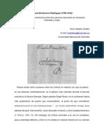 Manuel del Socorro Rodríguez. La poesía entre dos canones nacionales en formación