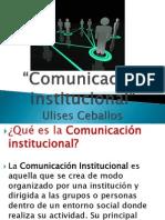 Comunicación institucional ulises