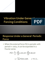 Vibration Under General Forcing Conditions