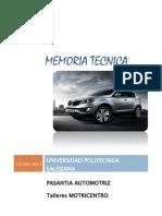 Memoria técnica