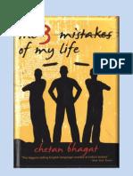 3 Mistakes-chetan Bhagat