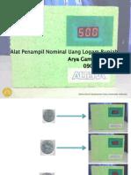 Presentasi Penampil Nominal Uang Logam Rupiah