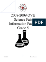 QVE Science Fair Packet