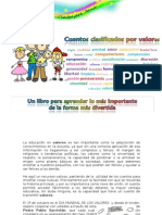 84387118 Cuaderno de Valores Cuentos Clasificados Por Valores