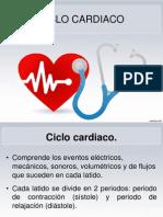 ciclo cardiaco. 1.2