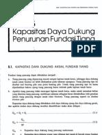 Bab5-Kapasitas Daya Dukung Penurunan Fundasi Tiang