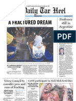 The Daily Tar Heel for March 26, 2012