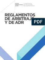 2012 ICC Arbitration and ADR Rules SPANISH