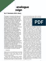 Intutive Analog Design
