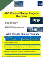 ADB General - 1 Climate Change - David McCauley