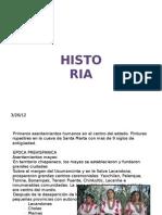 Historia Clima Oro Hidro