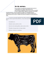 Clasificación de carnes