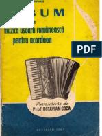 Album de Muzica Usoara Romaneasca (pt acordeon)