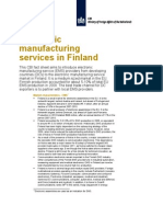 Electronic Manufacturing Services in Finland