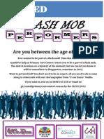 Flash Mob Poster