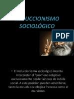 REDUCCIONISMO ANTROPOLÓGICO