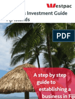 Business Investment Guide to Fiji-Mar11 2008