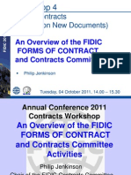 FIDIC Contracts Davos 2011 Jenkinson