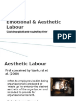 Emotional & Aesthetic Labour