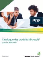 Catalogue Produits PME-PMI 2011