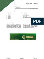 2.4GHz_Inverted F Antenna